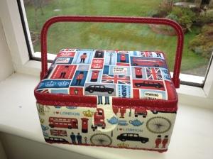 London Sewing Basket
