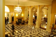 The foyer at Claridges